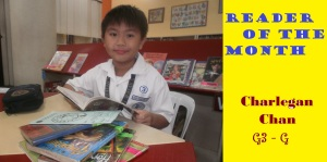 reader of the month legan2