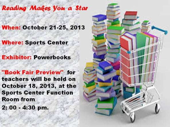 announcement book fair